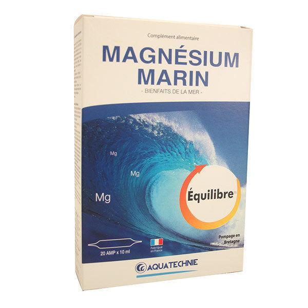 Magnésium marin Aquatechnie 20 ampoules