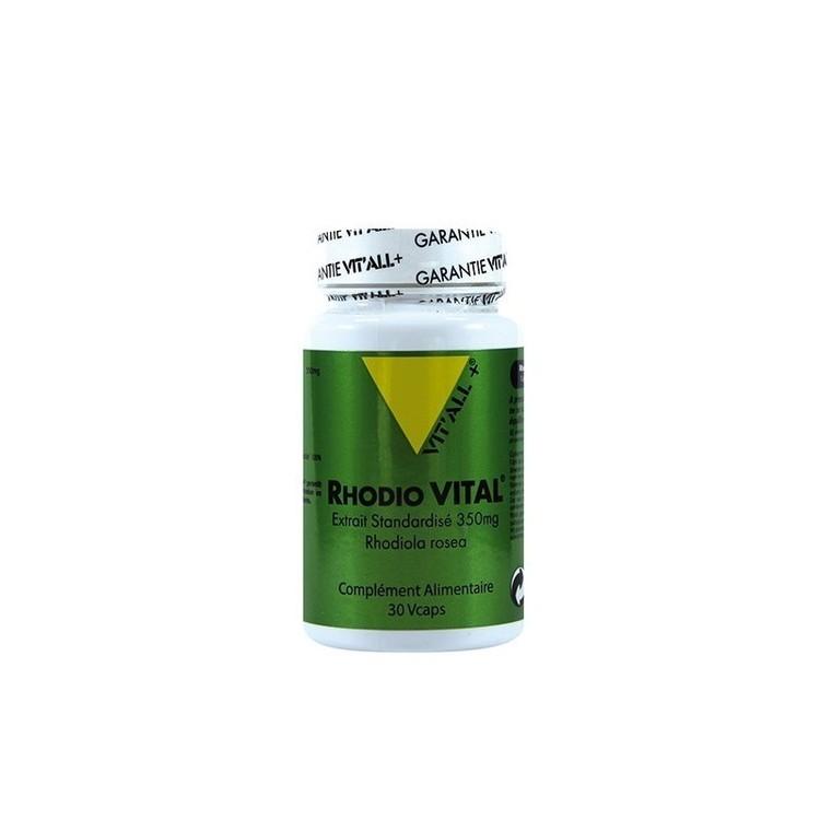 Rhodio Vital 360mg 30 gélules Vit'all+