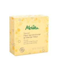 Melvita - savon fleur de citronnier et miel de tilleul Bio Melvita