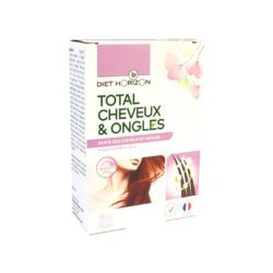 Total cheveux et ongles Diet'horizon 60 cps