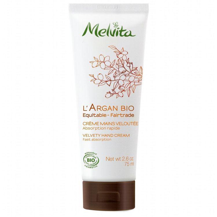 Crème mains a l'argan Melvita Bio 75ml