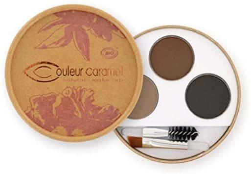 kit sourcils brunes N°29 Bio Couleur Caramel