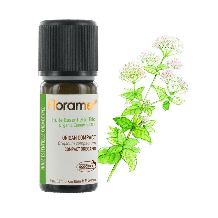 Huile essentielle d'origan compact Bio Florame 5ml