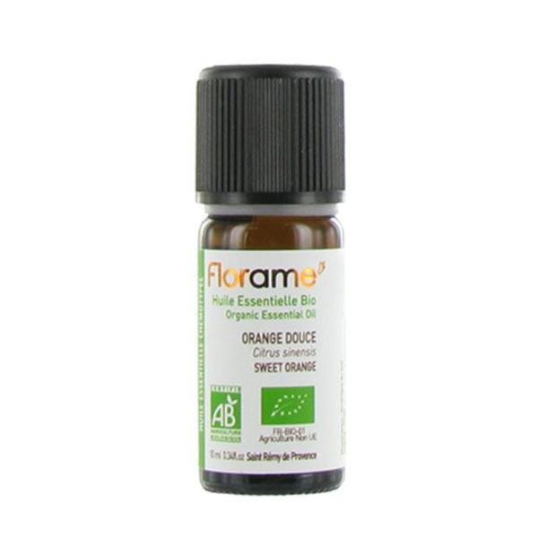 Huile essentielle d'orange douce zeste Bio Florame 10ml