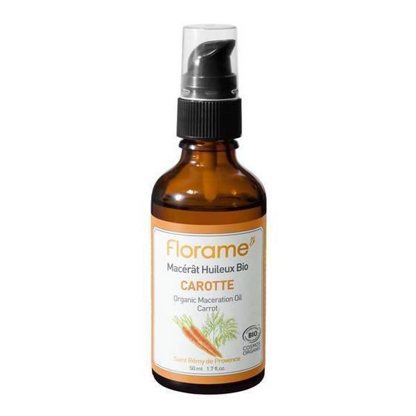 Macérât huileux Carotte Bio Florame 50ml