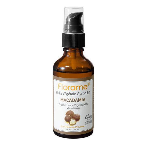 Huile végétale de macadamia Bio Florame 50ml