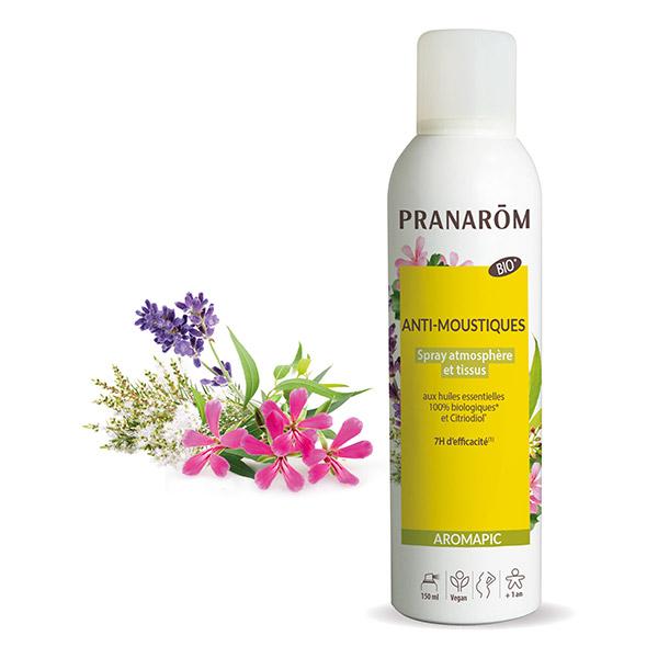 Spray anti-moustique atmosphère et tissus Bio Pranarom