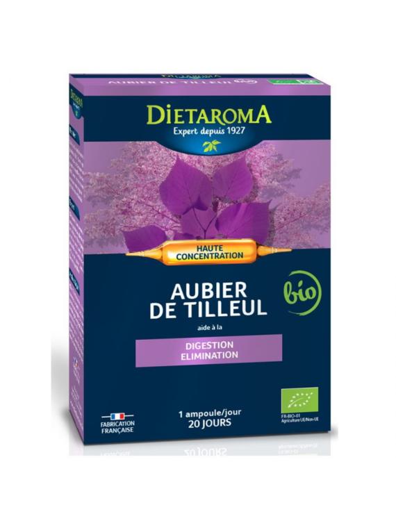 Aubier de tilleul Dietaroma Bio 20 ampoules