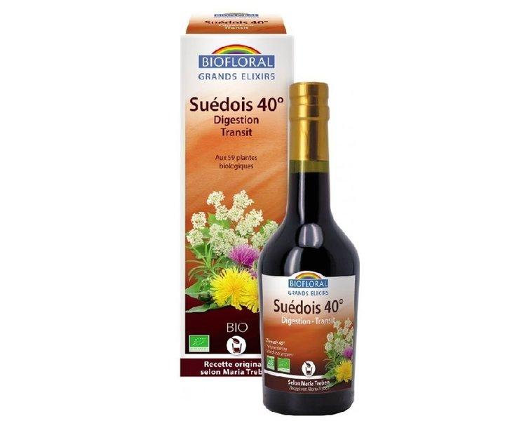 Élixir du suédois à 17% Biofloral Bio 375ml