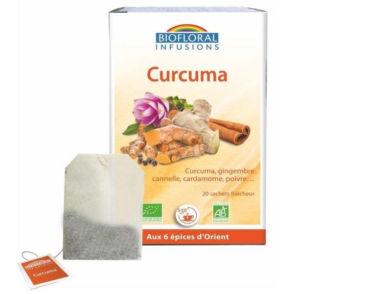 Infusion curcuma Biofloral Bio 20 sachets