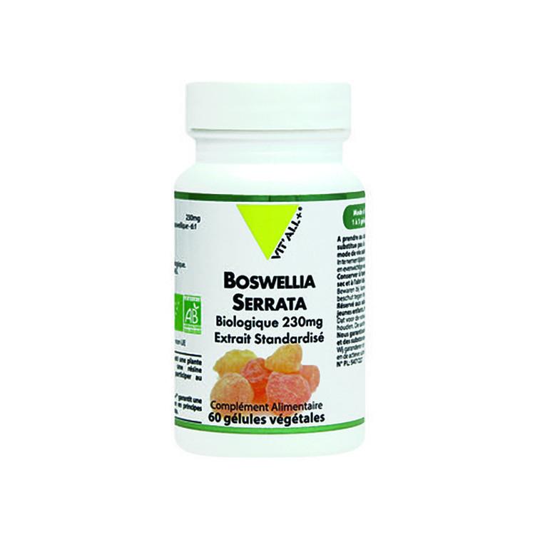Boswellia Serrata 230mg Bio Vit'All+ 60 gélules