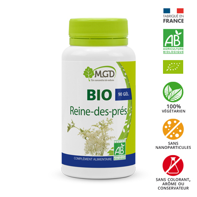 Reine des prés Bio MGD 90 gélules