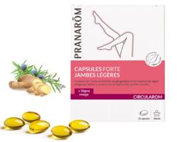 Capsules jambes légères Pranarom Bio bte 30