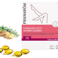Pranarom- Capsules jambes légères