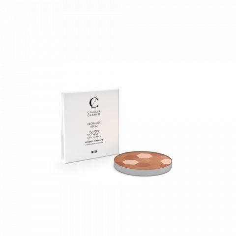 Recharge poudre mosaïque N°233 Teint mat Couleur Caramel Bio