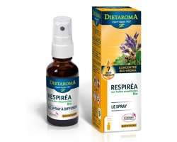 Respirea spray aux huiles essentielles Dietaroma Bio spray 30ml