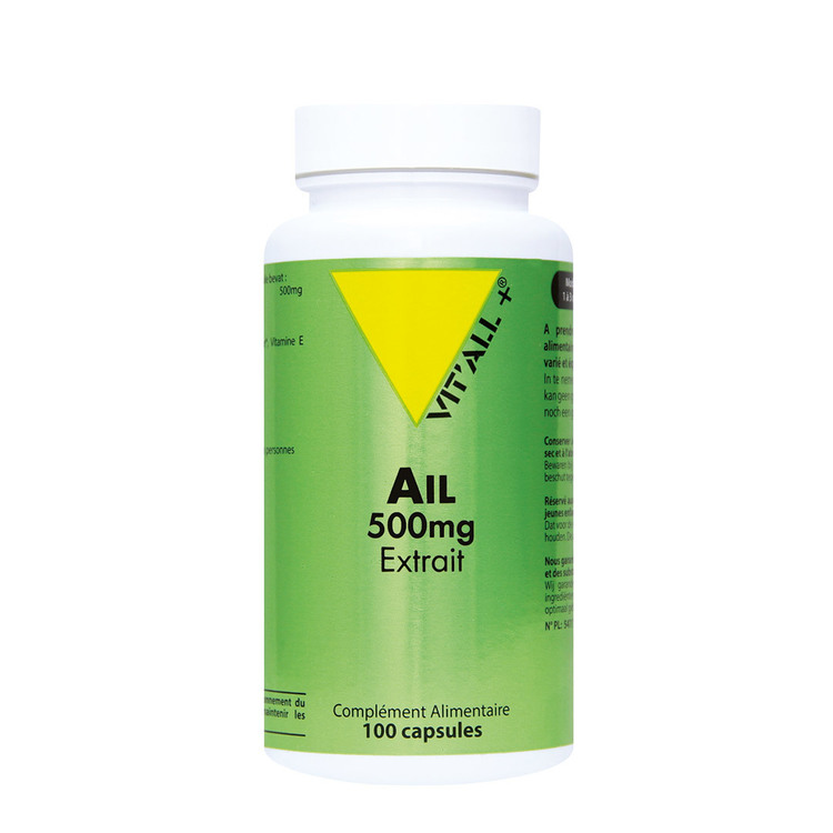 Ail 500mg Vit'all+ 100 capsules