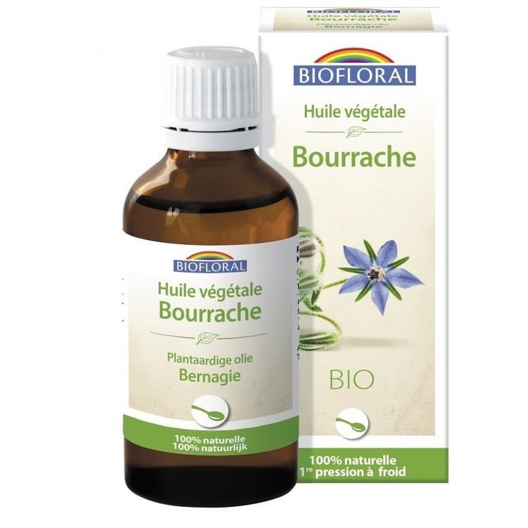 Huile végétale de Bourrache Biofloral Bio flacon 50ml