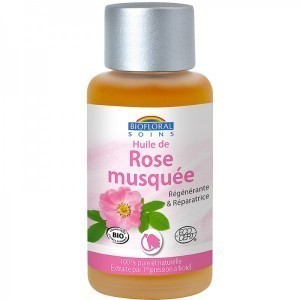 Huile végétale de rose Biofloral Bio 50ml