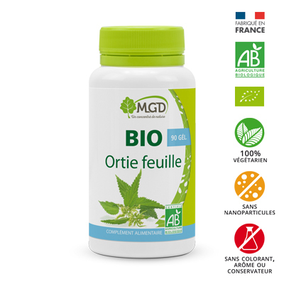 Ortie feuilles MGD Bio 90 gélules