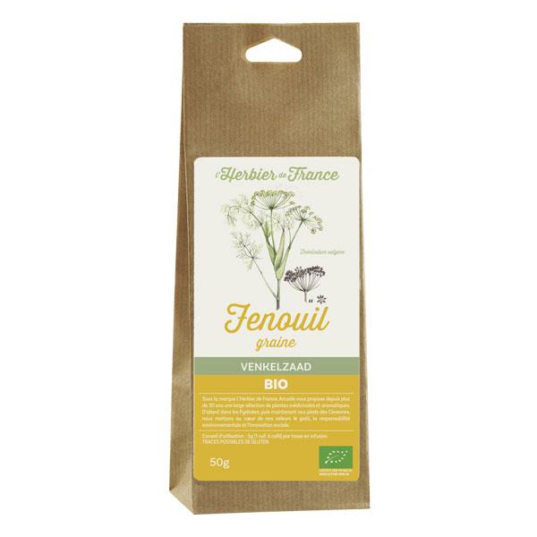 Fenouil graines Bio Herbier de France 50g
