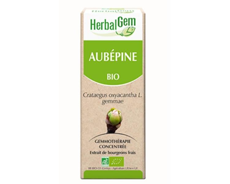 Aubépine bourgeons Herbalgem Bio 50ml