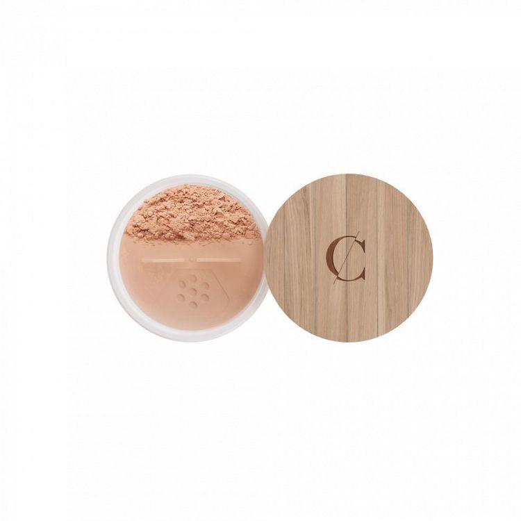 Fond de teint Bio minéral N°23 beige abricot  Couleur Caramel