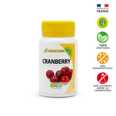 Cranberry  Bio MGD 30 gélules