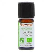 FLORAME- Huile Essentielle Basilic Tropical Bio
