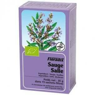 Tisane sauge Floradix Bio 15 infusions