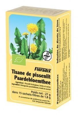 Tisane Pissenlit Floradix Bio 15 infusions