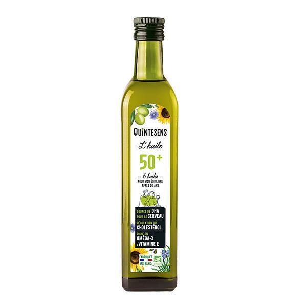 Quintesens - Huile 50+ Bio alimentaire 50cl
