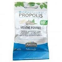 Pollenergie- Biopastilles Propolis intense menthe Bio