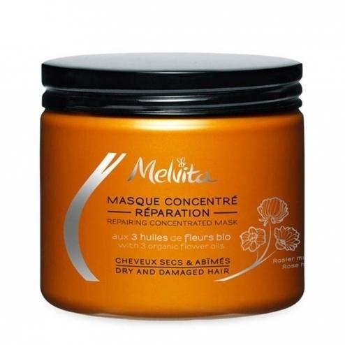Masque expert réparation cheveux secs Bio Melvita