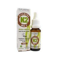 D-Plantes vitamine K2M7 gouttes Vegan