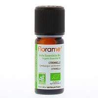 FLORAME - Huile Essentielle Citronnelle Bio