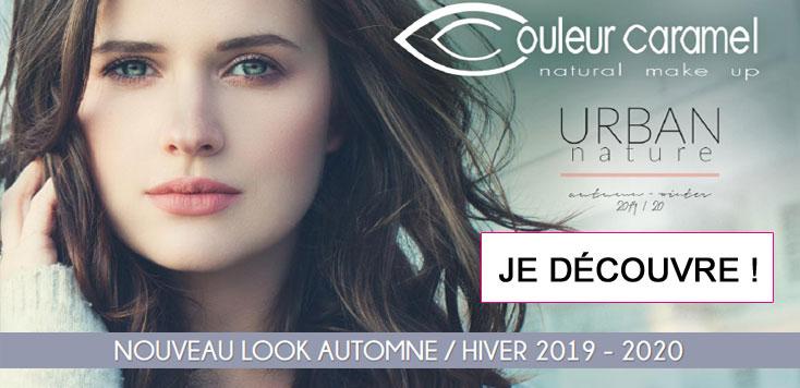 Nouveau Look maquillage Couleur Caramel Urban Nature