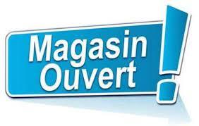 Magasin ouvert pendant le confinement